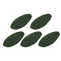 vidaXL Kunstige banantreblader 5 stk grønn 62 cm