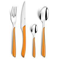 Amefa Bestikksett 24 stk Eclat oransje