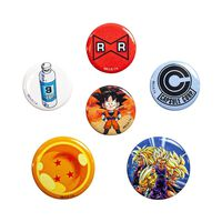 Dragon Ball Z, 6x Pins
