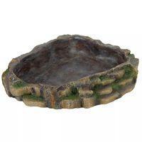 TRIXIE Vann-/matskål for reptiler 24x20 cm polyester harpiks 76205