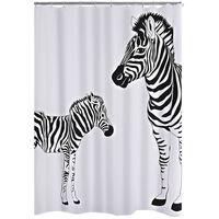 RIDDER Dusjforheng Zebra 180x200 cm
