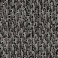 DUTCH WALLCOVERINGS Veggpanel Weave svart og sølv