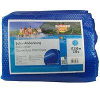 Summer Fun Sommertrekk for basseng rundt 350 cm PE blå