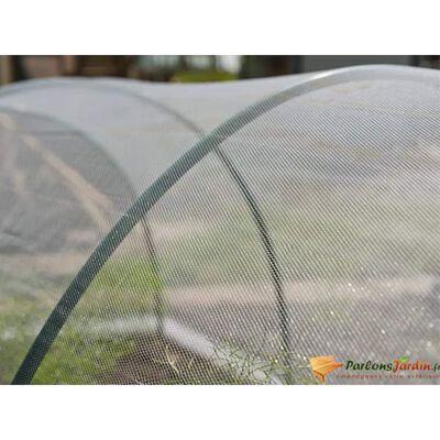 Nature Anti-insektsnett 2x10 m gjennomsiktig