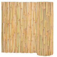 vidaXL Bambusgjerde 300x100 cm