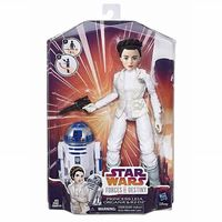 Star Wars Forces of Destiny: Prinsesse Leia og R2D2, Dukke 28 cm