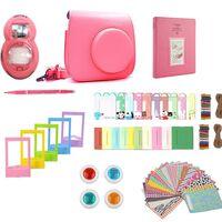 Tilbehørssett for Fujifilm Instax Mini 8 / 9 - Flamingo Pink