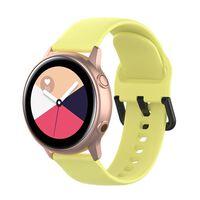 Armbånd til Samsung Galaxy Watch 42mm - gul (S)