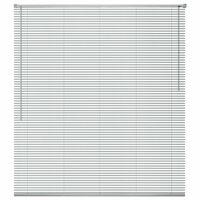 vidaXL Persienne Aluminium 80x220 cm Sølv