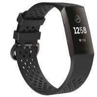Fitbit Charge 3 armbånd - svart - S