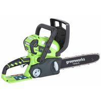 Greenworks Motorsag med 40 V 2 Ah batteri G40CS30 30 cm 20117UA