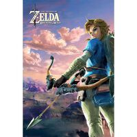 Zelda, Maxi Poster - Hyrule landskap