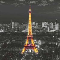 AG Design Fototapet Eiffel In The Night