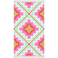 Happiness Strandhåndkle ZOPHIA 100x180 cm flerfarget