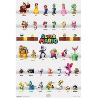 Super Mario, Maxi Poster - Karakterer