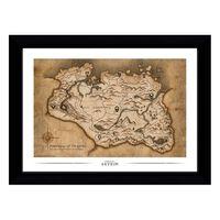 Skyrim, Tavle - Map