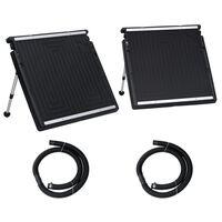 vidaXL Dobbelt solcellepanel for basseng 150x75 cm