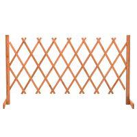 vidaXL Espaliergjerde oransje 150x80 cm heltre gran
