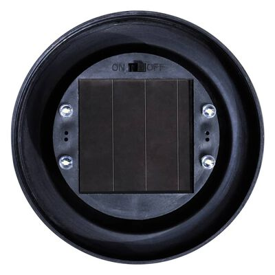 vidaXL Utendørs LED-lamper for hagesti 6 stk 20 cm med jordpinne