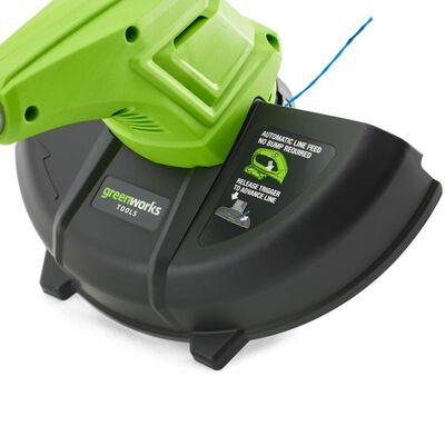 Greenworks Snortrimmer med 24 V 2 Ah batteri G24LT30 2101207UA