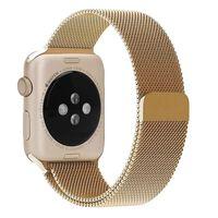 Apple Watch 1/2/3 Armbånd Milanese Loop 38 Mm - Gull