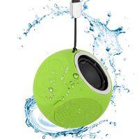 Bærbar Bluetooth-høyttaler IPX7 vanntett - Grønn