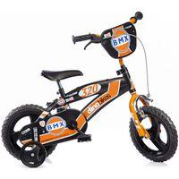 "Dino Bikes Barnesykkel BMX oransje 12"""