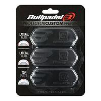 Bullpadel, 3x Racketvekter, Protector - Svart