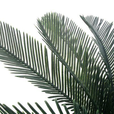 vidaXL Kunstig sagopalme med potte grønn 125 cm