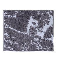 RIDDER Baderomsmatte Marmor grå-hvit 55x50 cm