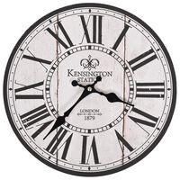 vidaXL Veggklokke gammeldags London 30 cm