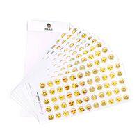 Emoji klistremerker - 33 forskjellige motiver