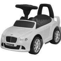 Hvit Bentley Pedaldrevet Barnebil