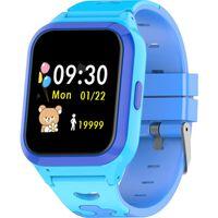 2g Smartwatch Med Gps Og Sos-funksjon Blå