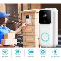 Smart hjemme-dørklokke med kamera og wifi 1080p