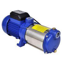 Jet-pumpe 1300 W 5100 L/t blå
