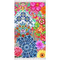 Happiness Strandhåndkle ZAIRA 100x180 cm flerfarget