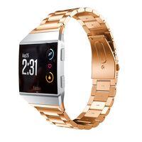 Rustfritt stål armbånd kompatibel med Fitbit Ionic - Rosé