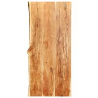 vidaXL Topplate til baderomsmøbler heltre akasie 120x55x3,8 cm