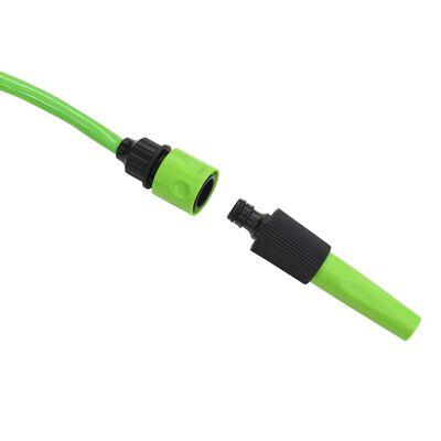 vidaXL Automatisk uttrekkbar slangetrommel veggmontert 10+1 m,