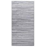 vidaXL Uteteppe grå 190x290 cm PP