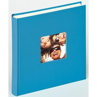 Walther Design Fotoalbum Fun 30x30 cm havblå 100 sider