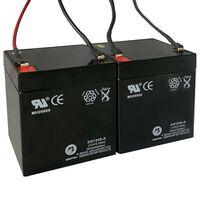 Reservebatterier til elektriske scootere 2 stk 12V 4,5Ah