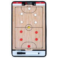Pure2Improve Dobbeltsidet trenerbrett for futsal 35x22 cm P2I100650
