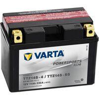 Varta Motorsykkelbatteri Powersports AGM TTZ14S/TTZ14-BS