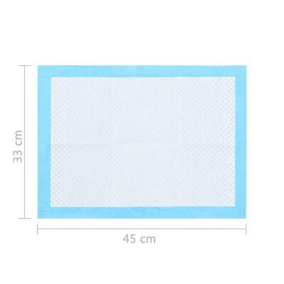 vidaXL Dyretreningsmatter 200 stk 45x33 cm ikke-vevet stoff