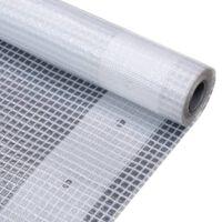 vidaXL Leno Presenning 260 g/m² 4x8 m hvit