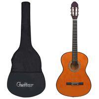 """vidaXL Klassisk gitar for nybegynnere med veske 4/4 39"""""""