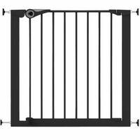 Noma Sikkerhetsgrind Easy Pressure Fit 75-82 cm metall svart 94313