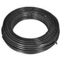 vidaXL Gjerdetråd 80 m 2,1/3,1 stål grå